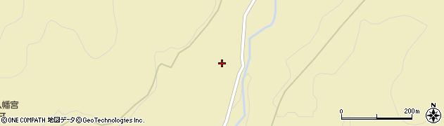 大分県玖珠郡九重町松木1447周辺の地図