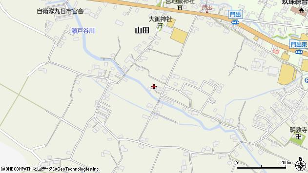 大分県玖珠郡玖珠町山田251周辺の地図