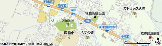 大分県玖珠郡玖珠町塚脇229周辺の地図