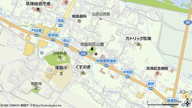大分県玖珠郡玖珠町塚脇272周辺の地図