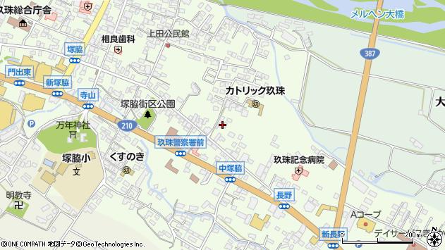 大分県玖珠郡玖珠町塚脇428周辺の地図