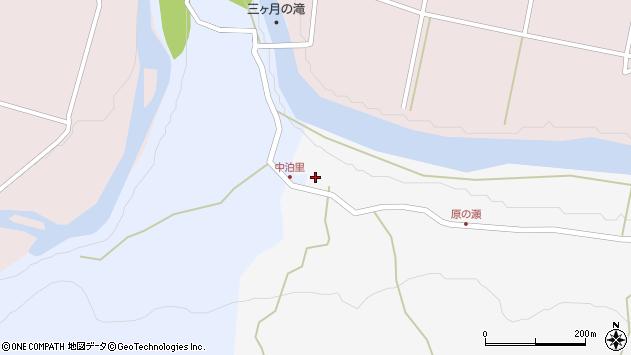 大分県玖珠郡玖珠町山浦8周辺の地図