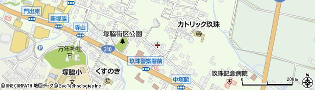 大分県玖珠郡玖珠町塚脇391周辺の地図
