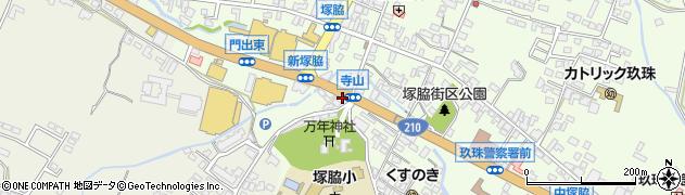 大分県玖珠郡玖珠町塚脇183周辺の地図