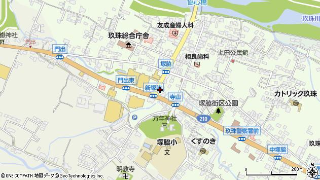大分県玖珠郡玖珠町塚脇180周辺の地図