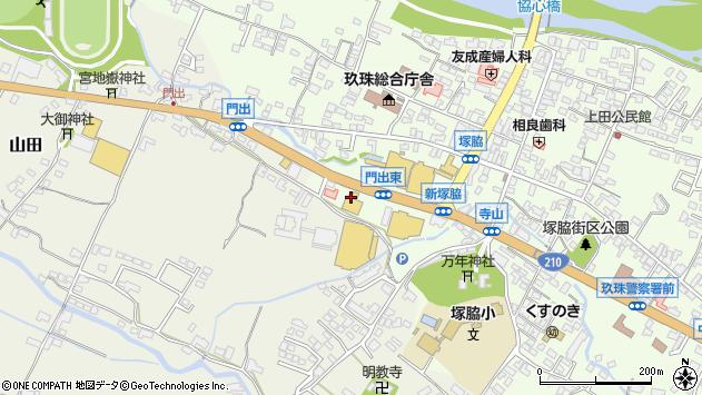 大分県玖珠郡玖珠町塚脇171周辺の地図