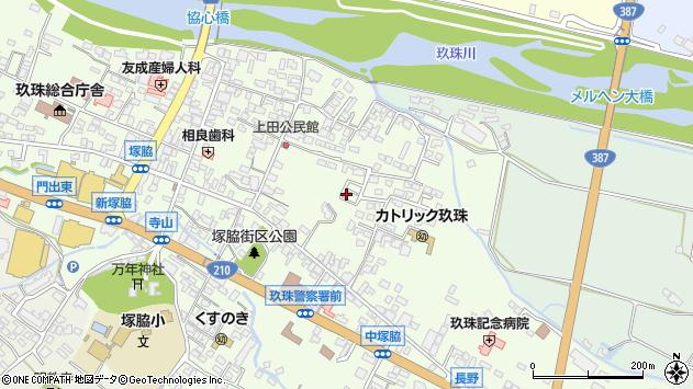 大分県玖珠郡玖珠町塚脇396周辺の地図