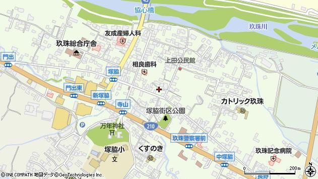 大分県玖珠郡玖珠町塚脇293周辺の地図