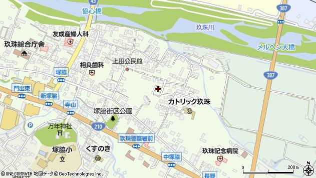 大分県玖珠郡玖珠町塚脇639周辺の地図