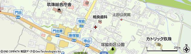 大分県玖珠郡玖珠町塚脇304周辺の地図