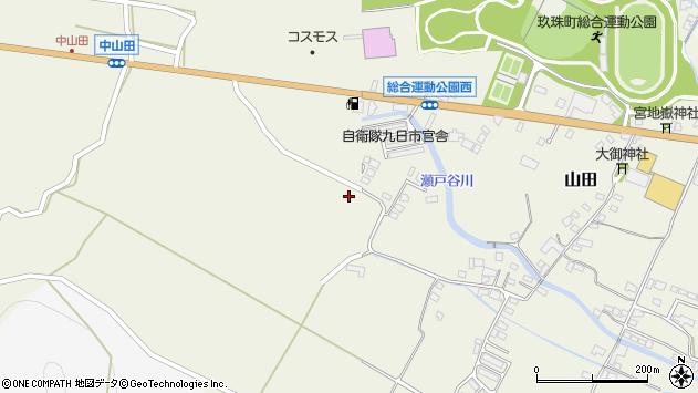 大分県玖珠郡玖珠町山田2315周辺の地図
