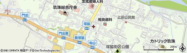 大分県玖珠郡玖珠町塚脇316周辺の地図