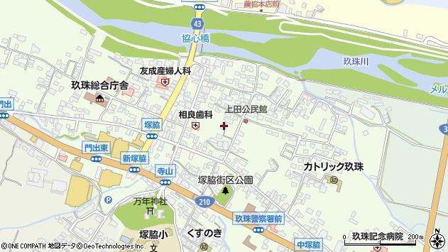 大分県玖珠郡玖珠町塚脇369周辺の地図