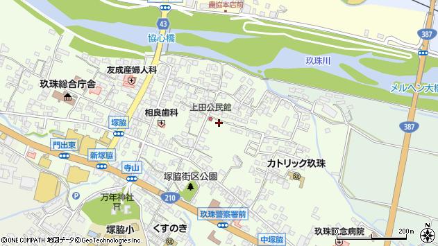 大分県玖珠郡玖珠町塚脇378周辺の地図