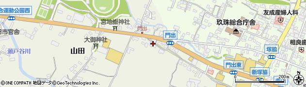 大分県玖珠郡玖珠町山田272周辺の地図