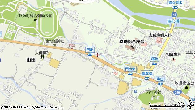 大分県玖珠郡玖珠町山田289周辺の地図