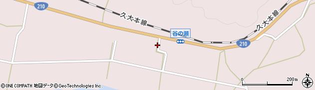大分県玖珠郡玖珠町戸畑694周辺の地図