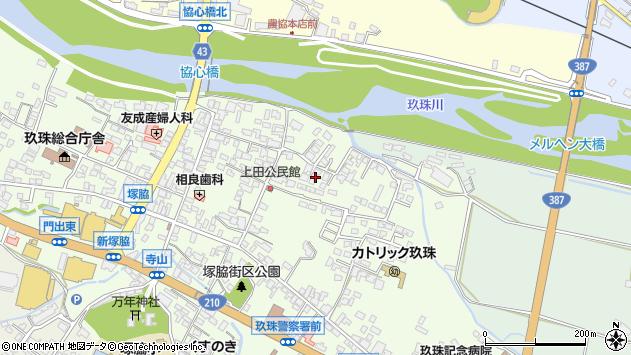大分県玖珠郡玖珠町塚脇364周辺の地図