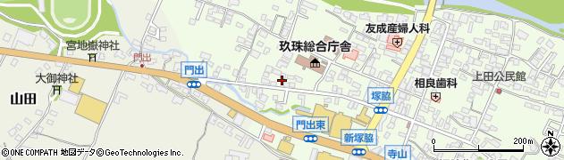 大分県玖珠郡玖珠町塚脇141周辺の地図