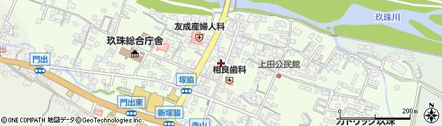 大分県玖珠郡玖珠町塚脇321周辺の地図