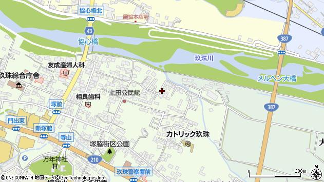 大分県玖珠郡玖珠町塚脇400周辺の地図