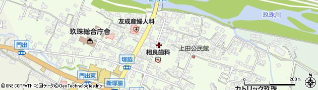 大分県玖珠郡玖珠町塚脇344周辺の地図