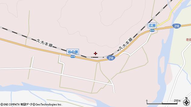 大分県玖珠郡玖珠町戸畑251周辺の地図