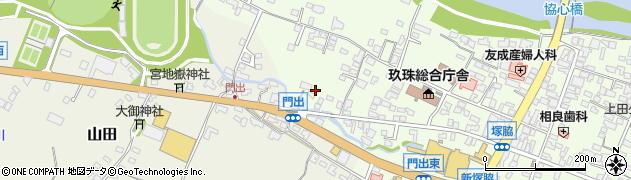 大分県玖珠郡玖珠町塚脇95周辺の地図