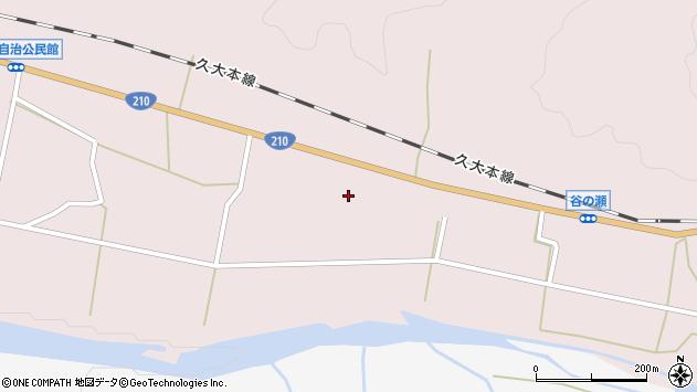 大分県玖珠郡玖珠町戸畑808周辺の地図