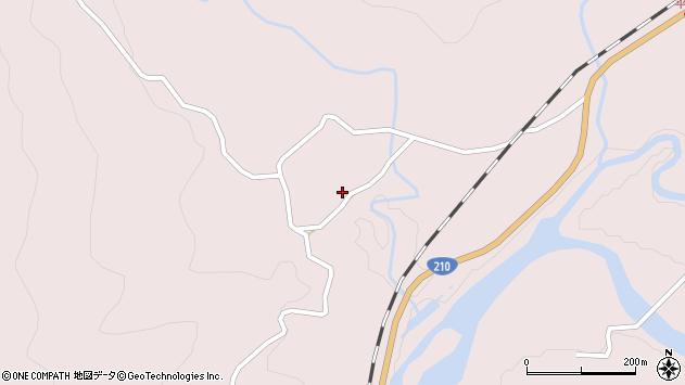 大分県玖珠郡玖珠町戸畑7648周辺の地図