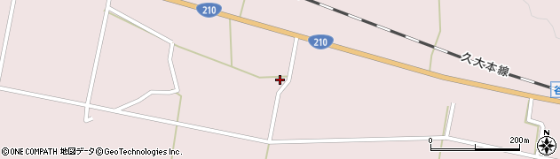 大分県玖珠郡玖珠町戸畑898周辺の地図