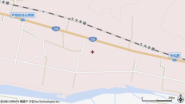大分県玖珠郡玖珠町戸畑896周辺の地図