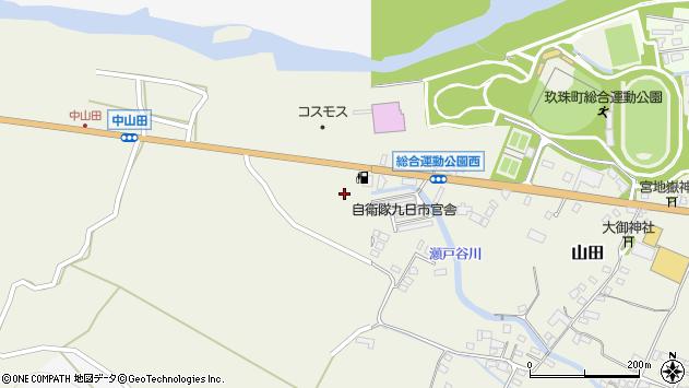 大分県玖珠郡玖珠町山田2294周辺の地図