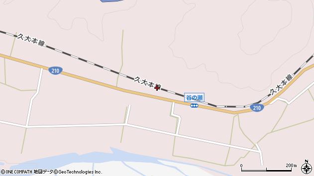 大分県玖珠郡玖珠町戸畑632周辺の地図