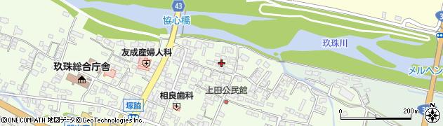 大分県玖珠郡玖珠町塚脇354周辺の地図