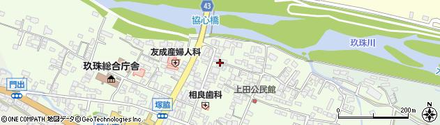大分県玖珠郡玖珠町塚脇342周辺の地図