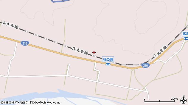大分県玖珠郡玖珠町戸畑610周辺の地図