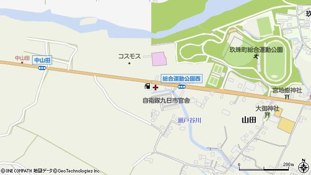 大分県玖珠郡玖珠町山田2289周辺の地図