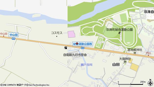 大分県玖珠郡玖珠町山田49周辺の地図