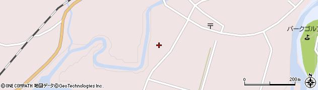 大分県玖珠郡玖珠町戸畑6445周辺の地図