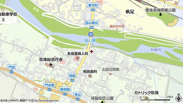 大分県玖珠郡玖珠町塚脇336周辺の地図