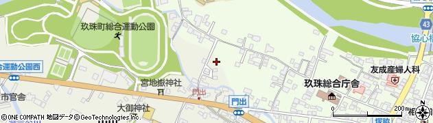 大分県玖珠郡玖珠町塚脇80周辺の地図