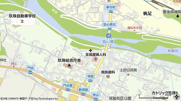 大分県玖珠郡玖珠町塚脇126周辺の地図