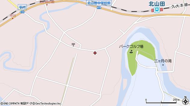 大分県玖珠郡玖珠町戸畑6555周辺の地図