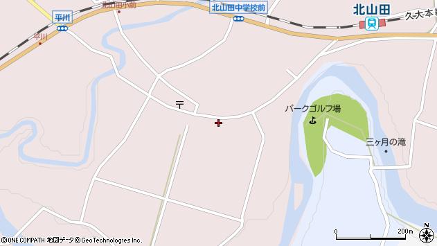 大分県玖珠郡玖珠町戸畑6475周辺の地図