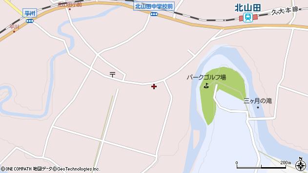 大分県玖珠郡玖珠町戸畑6559周辺の地図