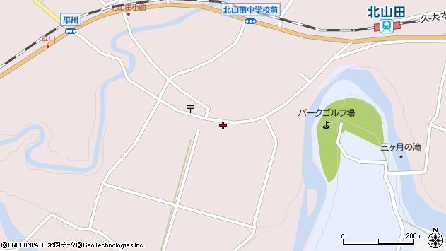 大分県玖珠郡玖珠町戸畑6468周辺の地図