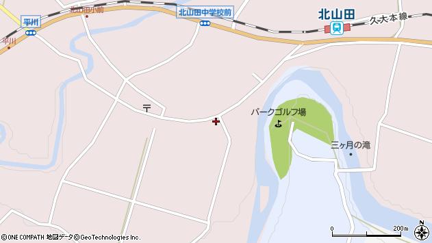 大分県玖珠郡玖珠町戸畑6561周辺の地図