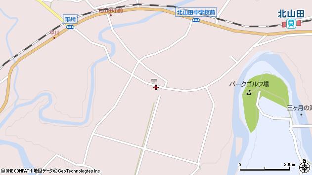 大分県玖珠郡玖珠町戸畑6481周辺の地図