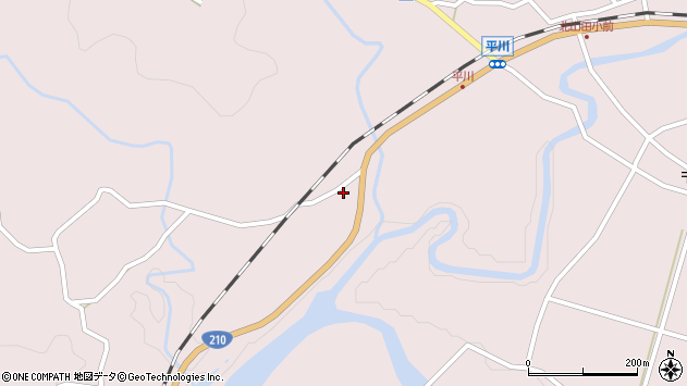 大分県玖珠郡玖珠町戸畑6183周辺の地図